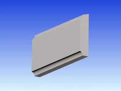 Gurtgesims GG8 - 40/200mm